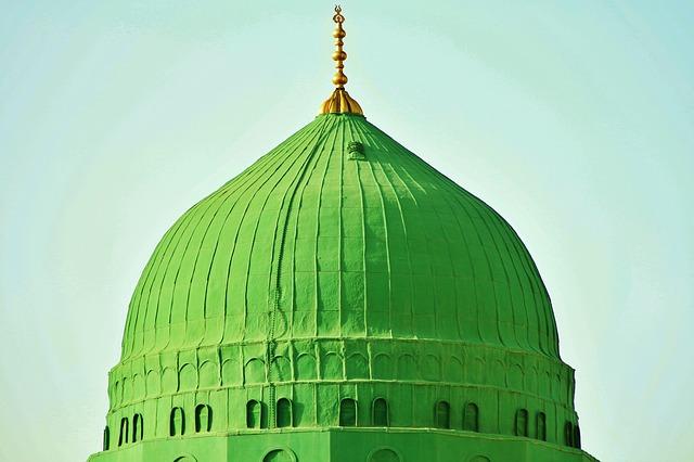 Domb of Masjid-Nabvi ~Madina (KSA)