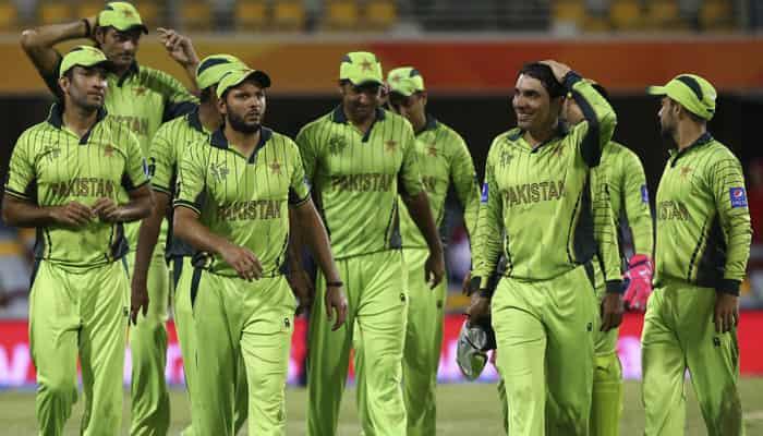 Pakistan's Cricket World Cup Jerseys 1